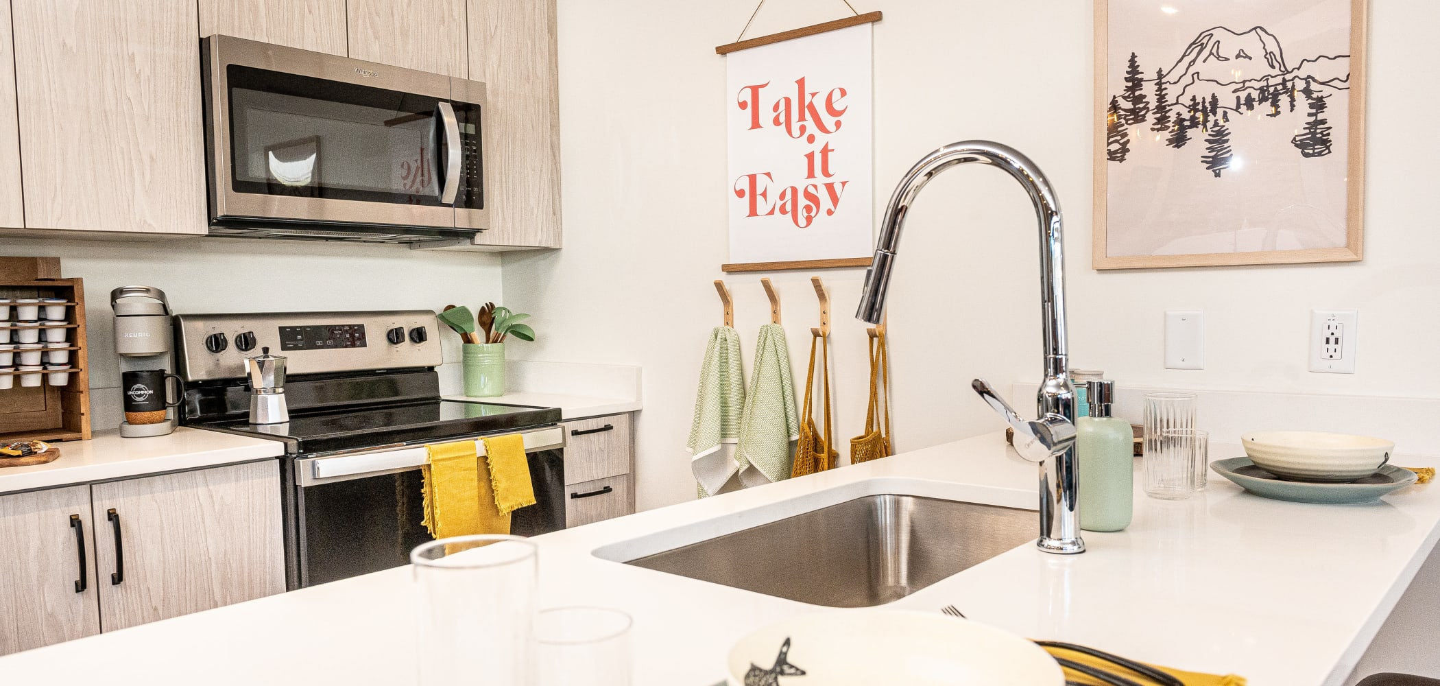 Enjoy Apartments with a Modern Kitchen at UNCOMMON Flagstaff