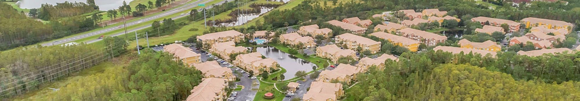 Neighborhood near Palms at World Gateway in Orlando, Florida