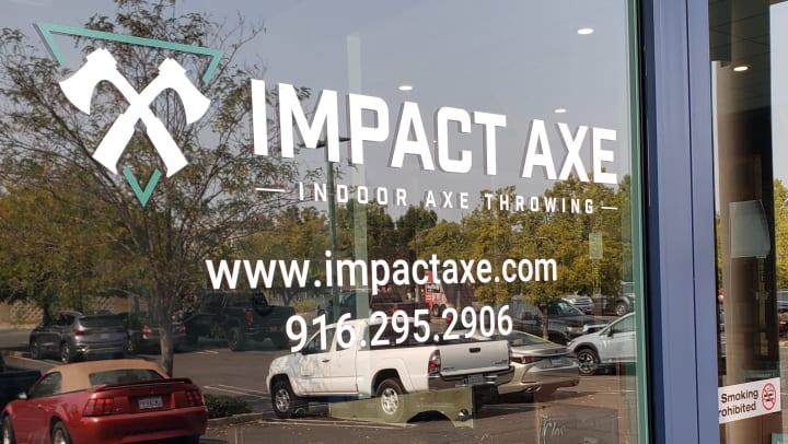 Impact Axe Door Entrance