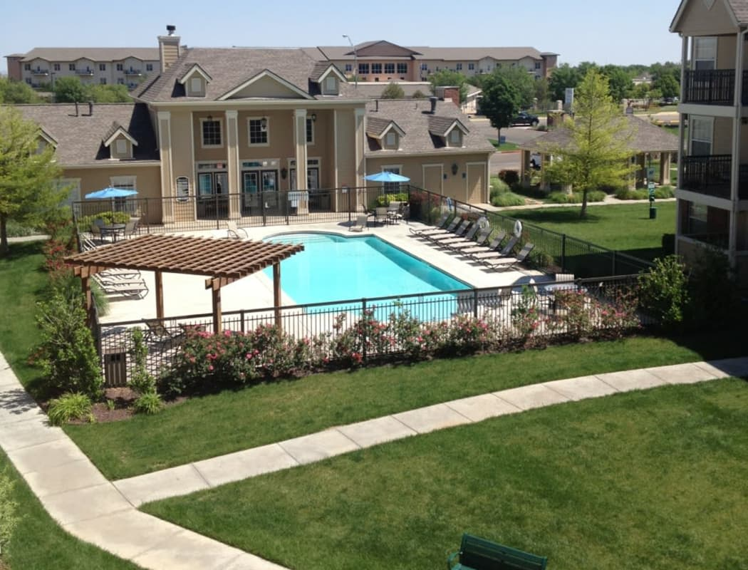 Swimming pool at Winchester Apartments in Amarillo, Texas
