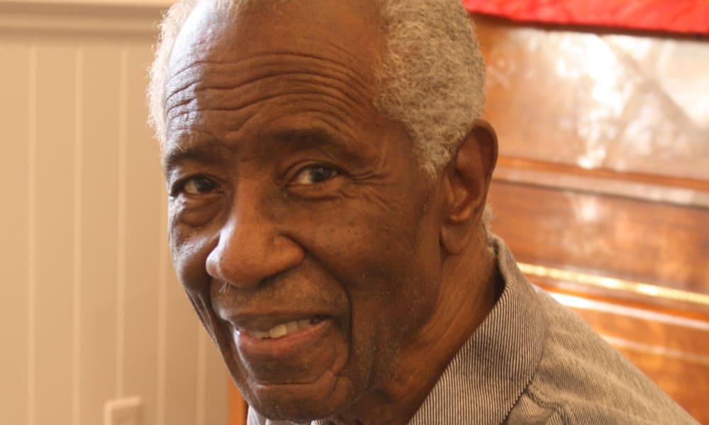 Senior gentleman at Regency Park Astoria in Pasadena, CA