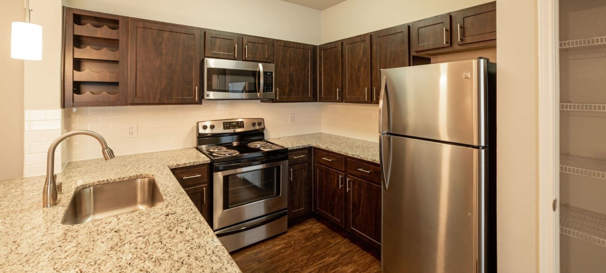 Floor plans at Marquis at Stonebriar in Frisco, Texas
