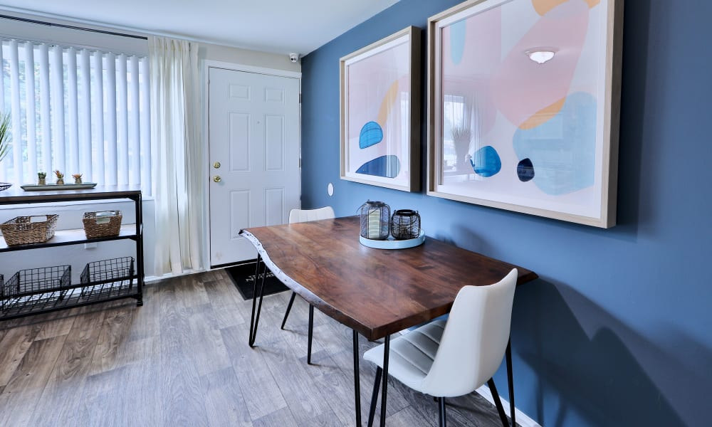Sitting Space in kitchen at Gwynnbrook Townhomes in Baltimore, Maryland