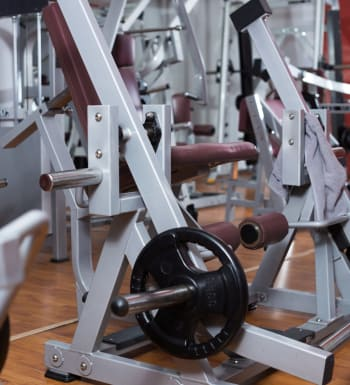 On-site fitness center at Barclay Apartments in Bethesda