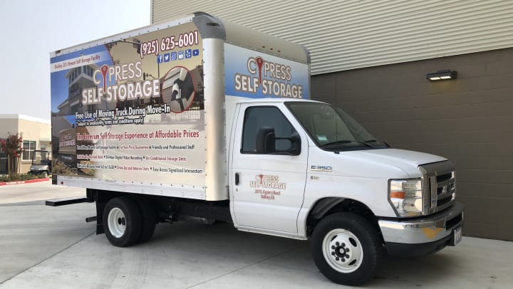 Free Moving Truck Cypress Self Storage