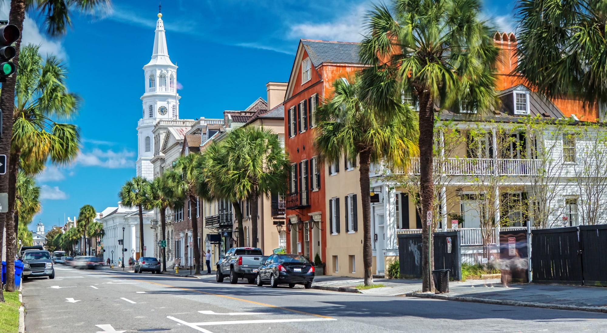 511 Meeting neighborhood in Charleston, South Carolina