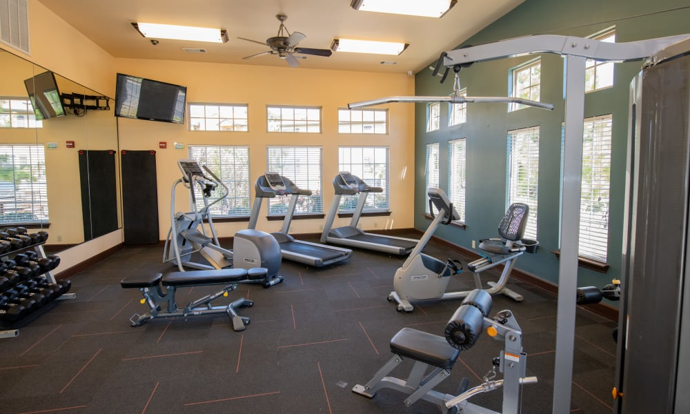 The gym at Tuscany Hills in Tulsa, Oklahoma
