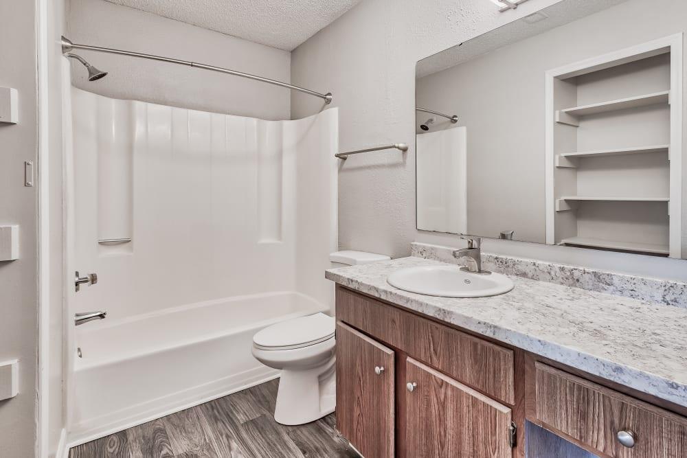 Bathroom at Copper Mill Apartments