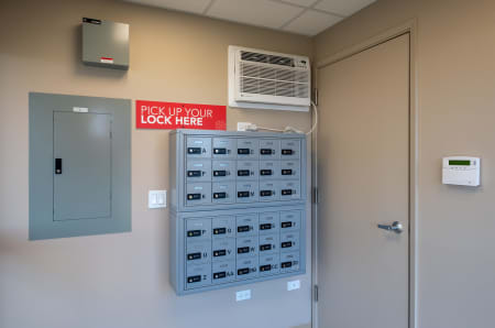 Lock box at StorQuest Express - Self Service Storage in Kapolei, HI
