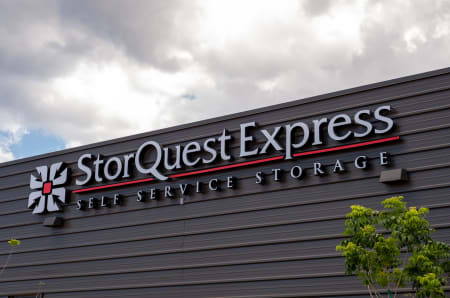 Entrance Sign at StorQuest Express - Self Service Storage in Palm Coast, Florida