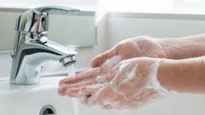 Wash hands for at least 20 seconds!