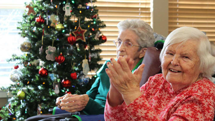 Chelsea Place Memory Care Christmas Celebration