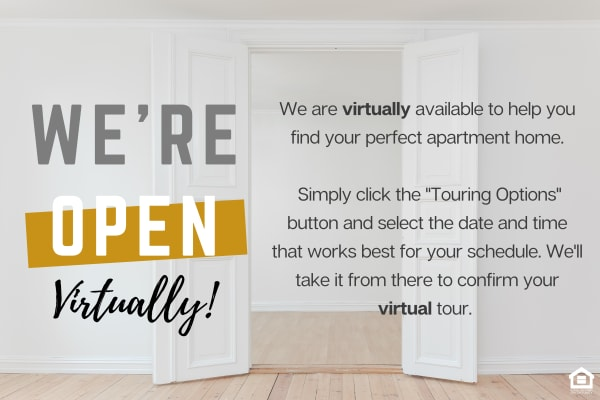 Team is available virtually - not for in-person tours. Click