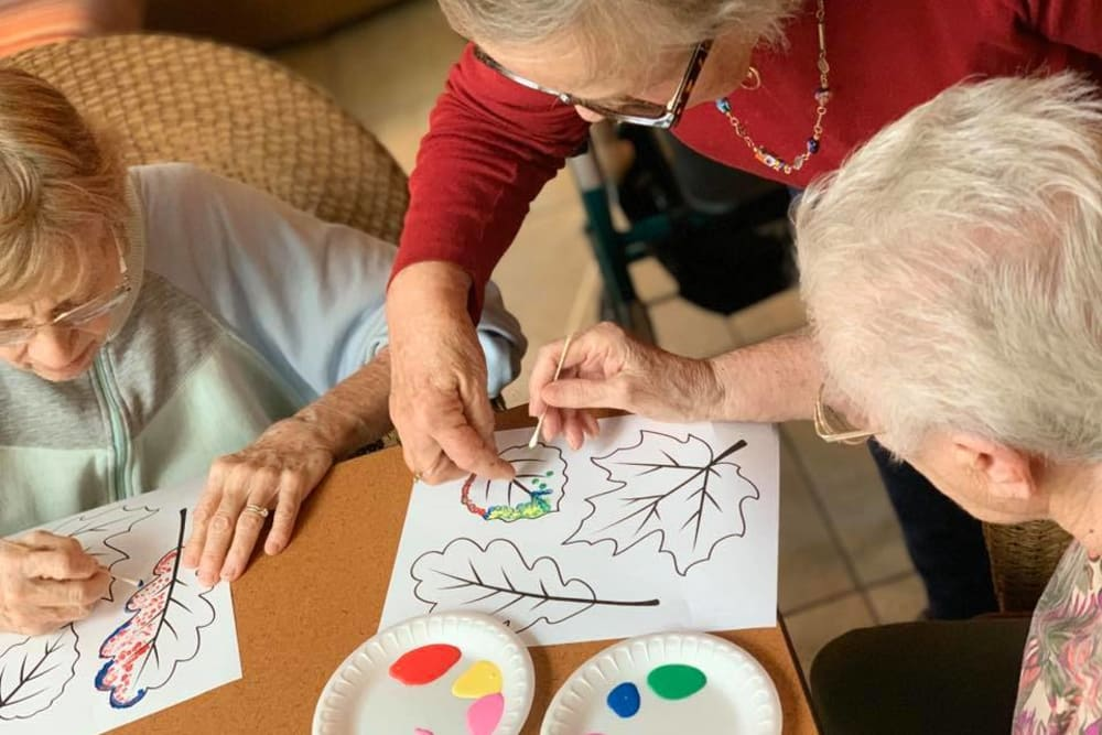 group activities offered at Forest Creek Memory Care in Overland Park, Kansas