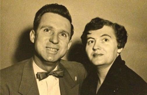 Emmett and Alice Koelsch, pioneers of Weatherly Court in Medford, Oregon