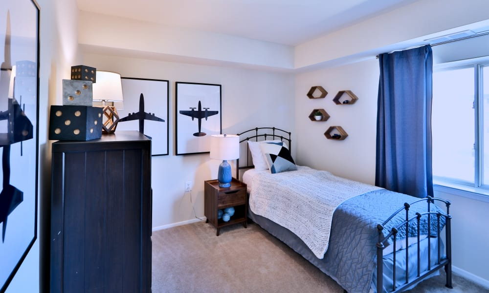 Bedroom at Apartments in Glen Burnie, Maryland