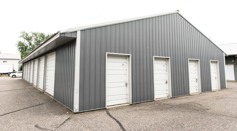 Exterior of outdoor units at KO Storage of Maple Lake - Lumber in Maple Lake, Minnesota
