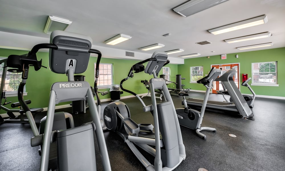 Fitness Center at Maple Bay Townhomes in Virginia Beach, Virginia