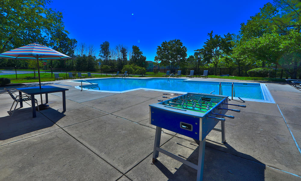 Outdoor Games at The Townhomes at Diamond Ridge in Baltimore, Maryland