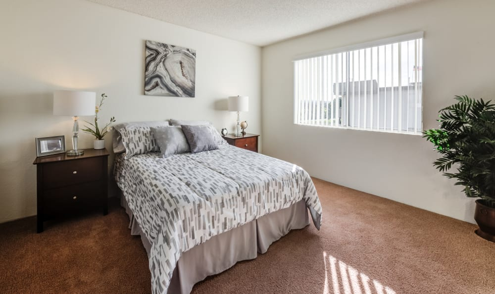 The Parkview bedroom