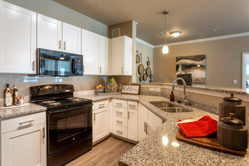 Fully Equipped Kitchen at Lullwater at Blair Stone in Tallahassee, Florida
