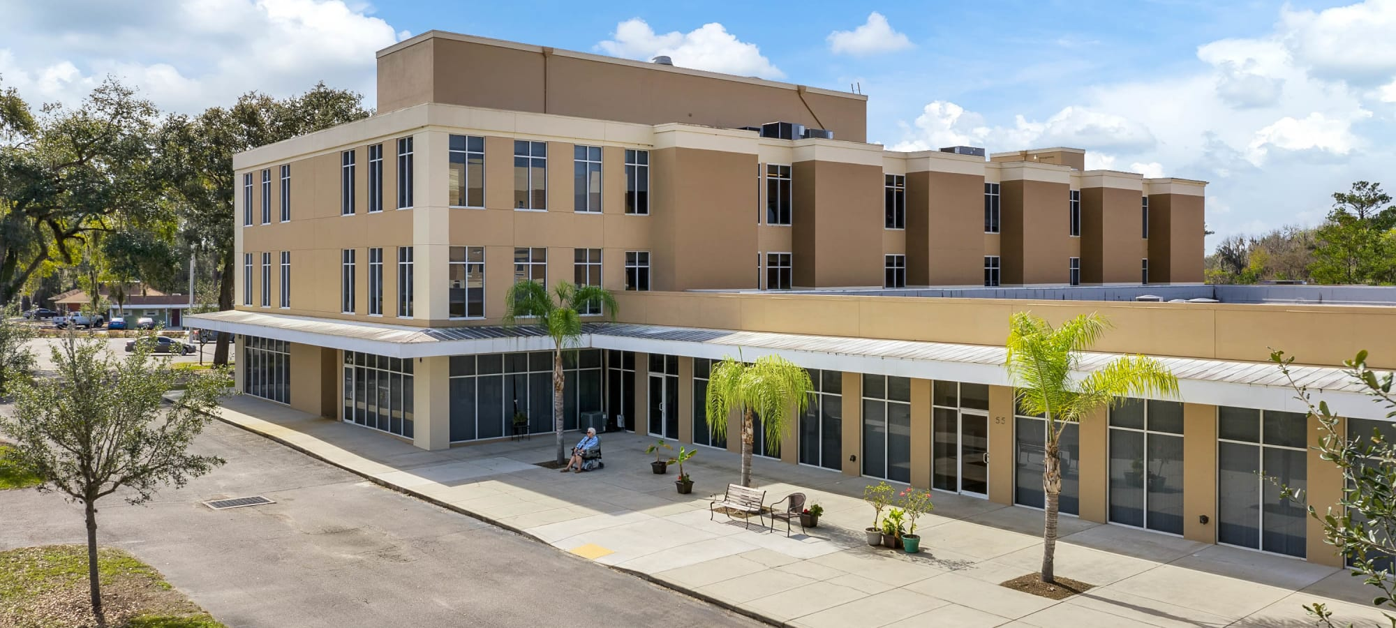 Exterior building image of The Grande in Brooksville, Florida