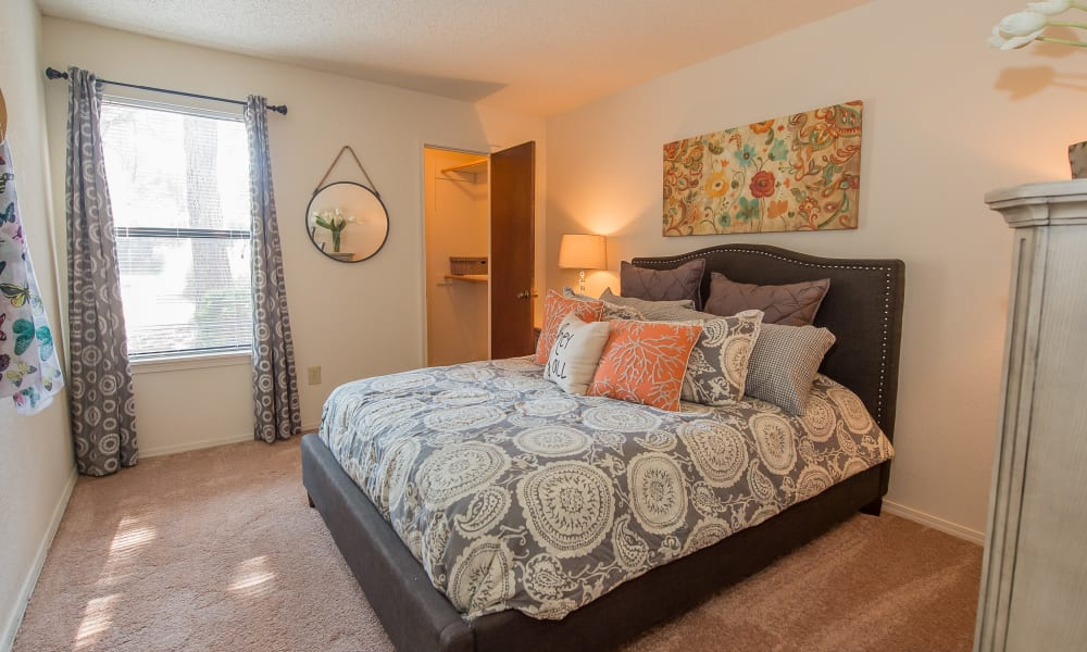Sunny Bedroom at Sunchase Ridgeland Apartments in Ridgeland, Mississippi