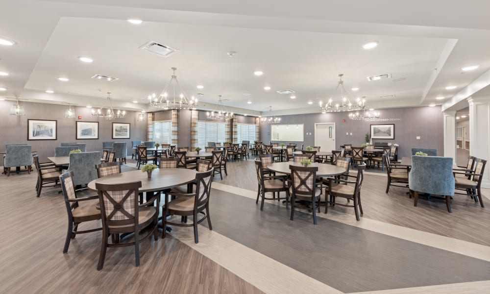 Dining hall at Trilogy Health Services - Shelbyville in Shelbyville, Kentucky