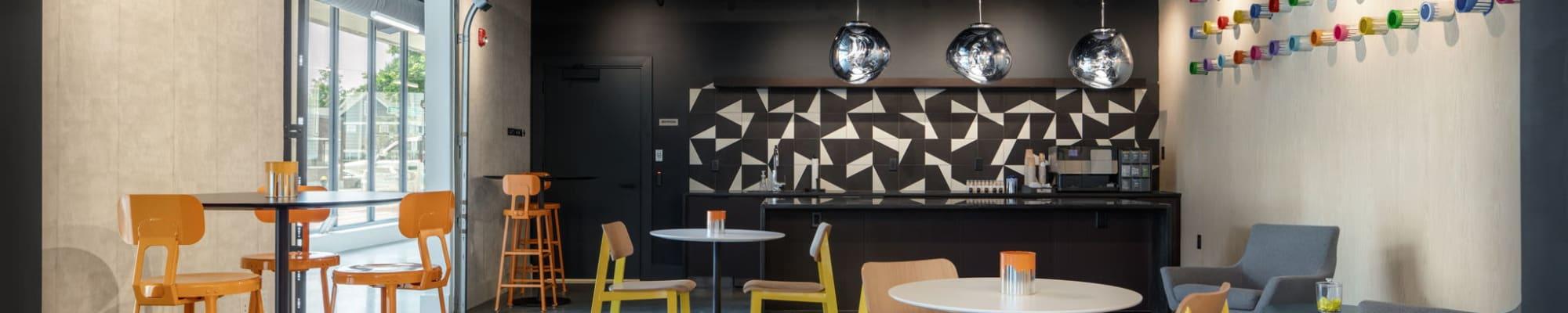 Floor plans at Arthaus Apartments in Allston, Massachusetts