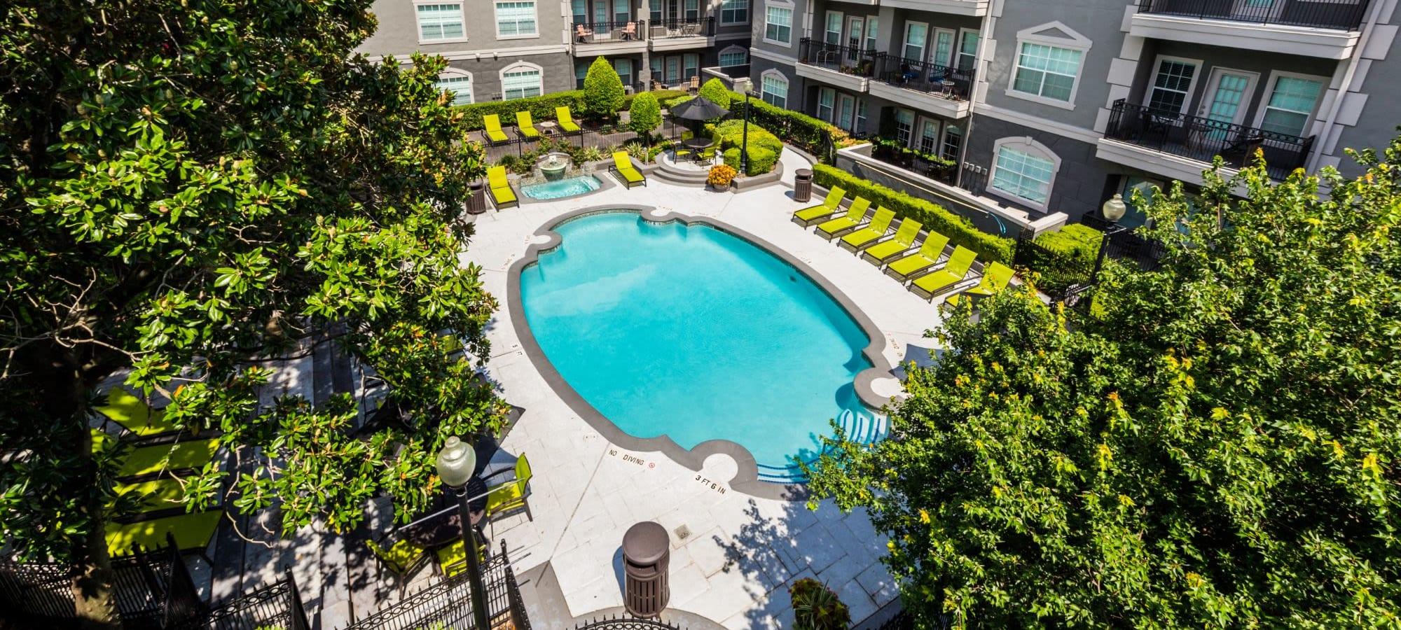 Neighborhood near Marquis at Tanglewood in Houston, Texas