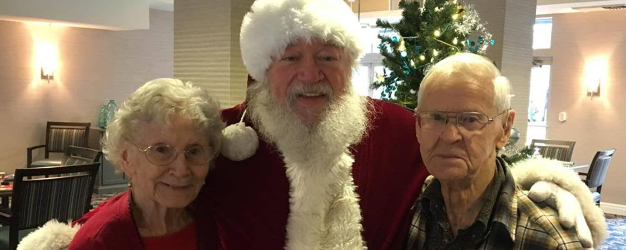 Meet Santa at Northgate Plaza in Seattle, Washington