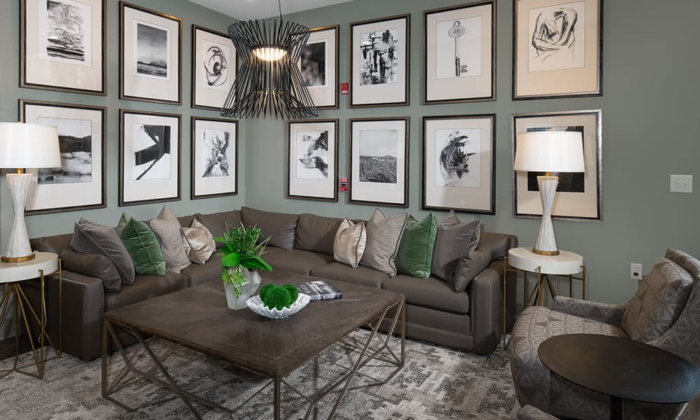Our apartments in Tuscaloosa, Alabama offer lounge spaces for residents