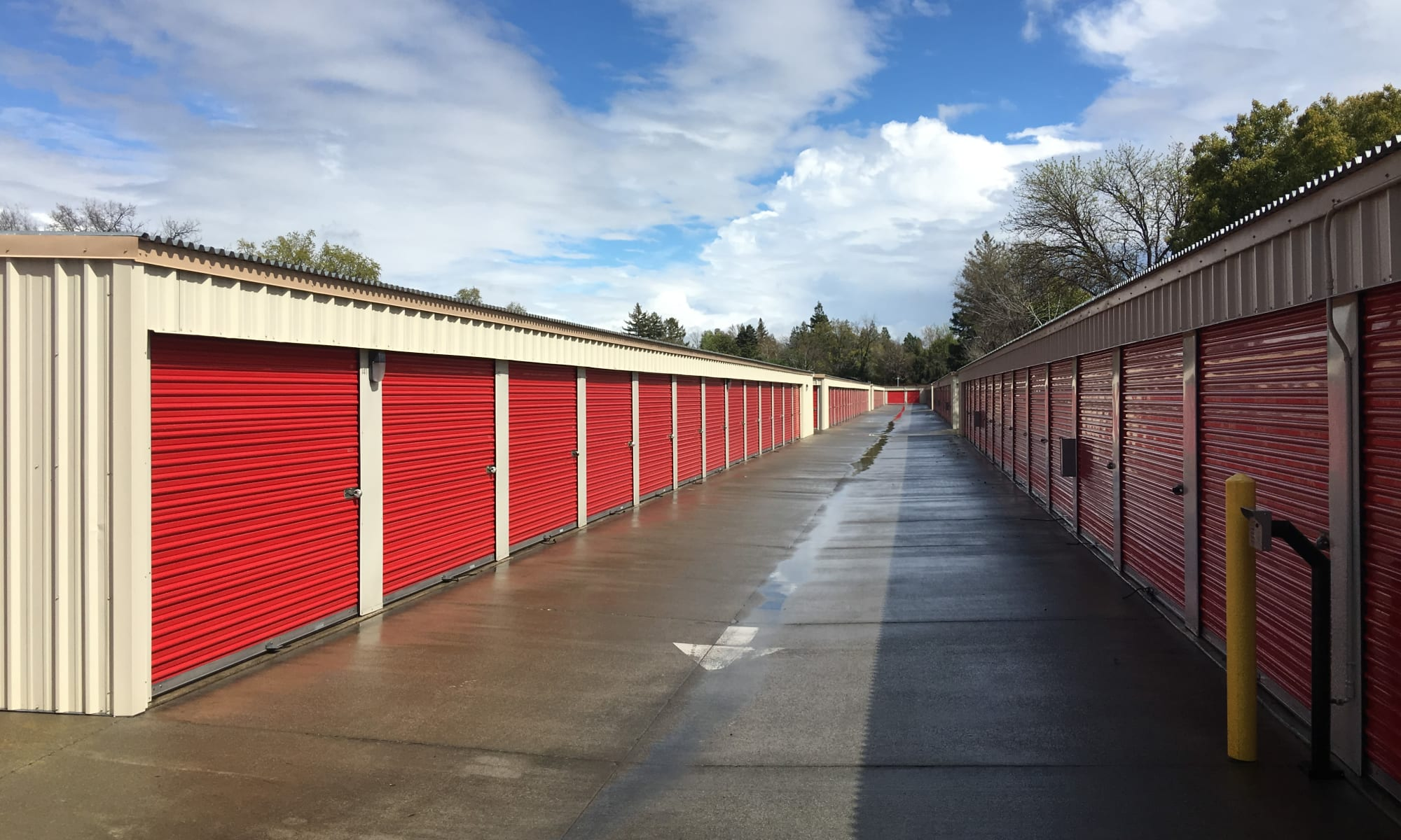 Self storage in Chico CA