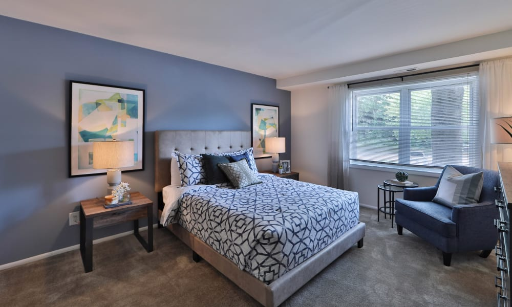 Our apartments in Windsor Mill, MD have a naturally well-lit bedroom