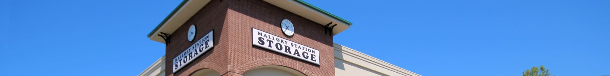 Mallory Station Storage locations