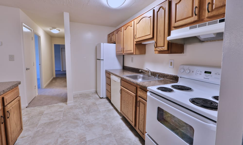 Bright Kitchen at Morningside Apartments & Townhomes in Owings Mills, Maryland
