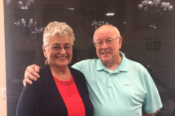 Hal & Evelyn Lyckman at Julian Estates Gracious Retirement Living in Puyallup, Washington