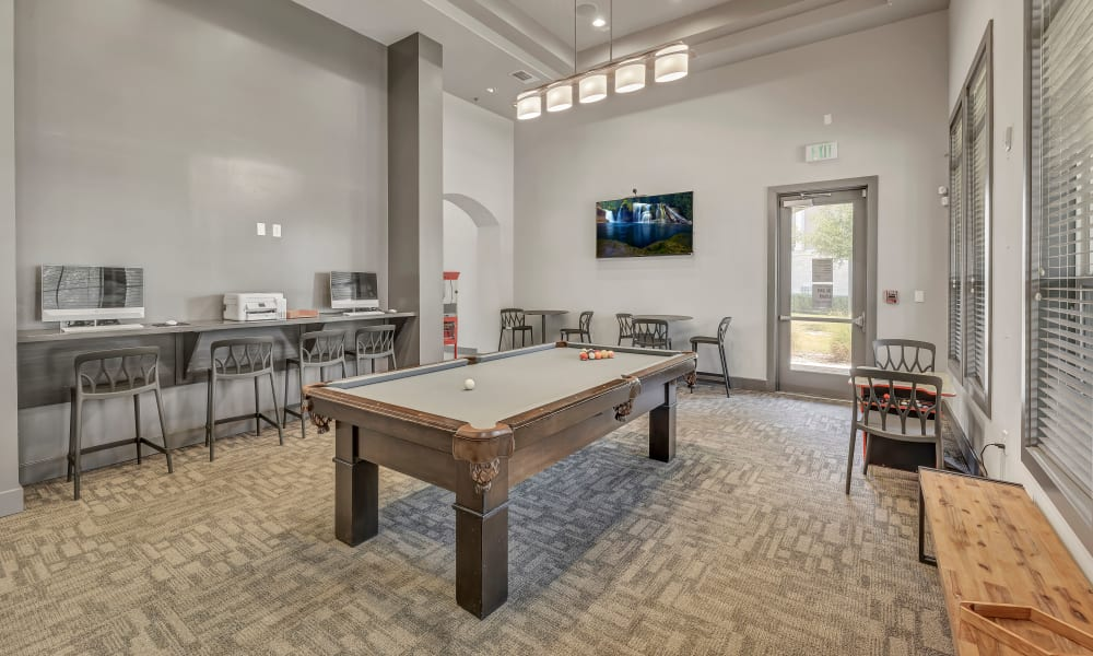 Business Center Game Room |  Wiregrass at Stone Oak