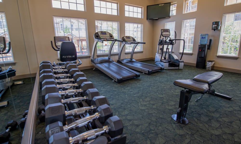 Fitness Center at Park at Tuscany in Oklahoma City, Oklahoma
