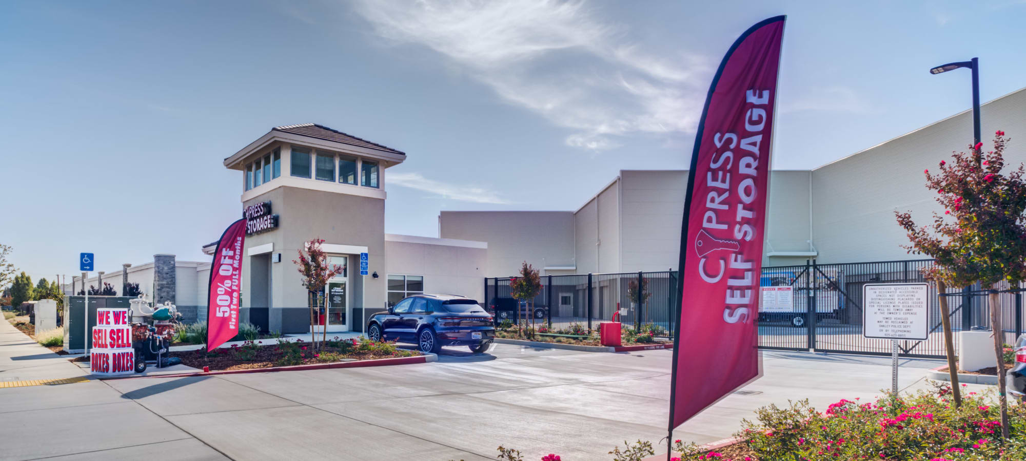 Cypress Self Storage in Oakley, California - Home of the 1st Year Price Guarantee!