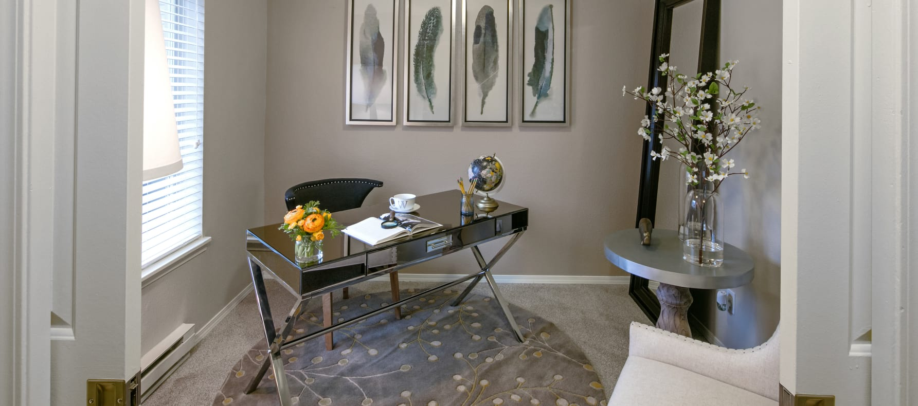 Cozy Living Area at Waterhouse Place in Beaverton, OR