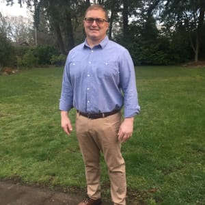 Jim McGaughey, Facilities Manager at Compass Senior Living in Eugene, Oregon