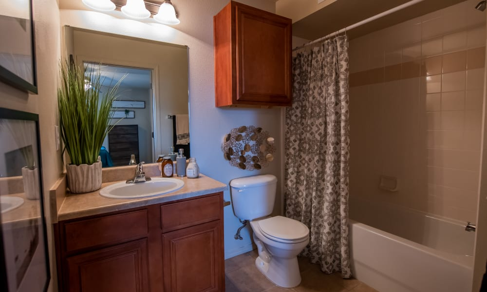Bathroom at Colonies at Hillside in Amarillo, Texas