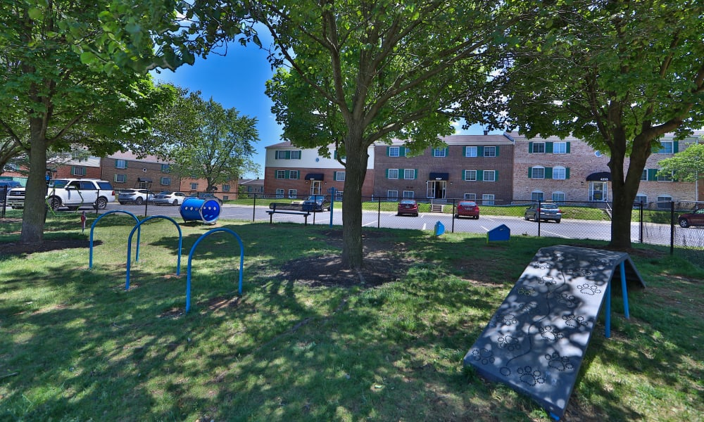 Dog Park to Eagle's Crest Apartments in Harrisburg, Pennsylvania