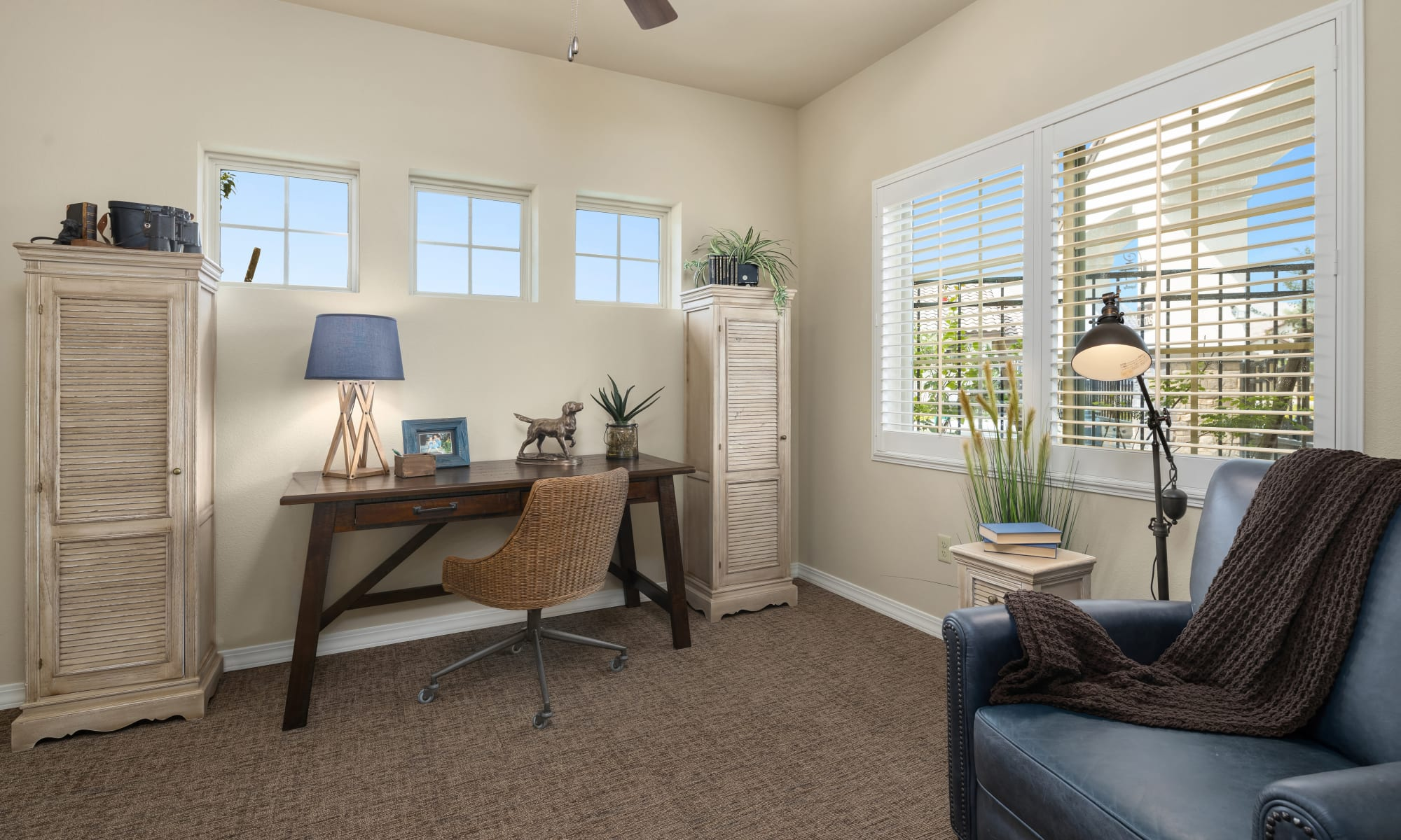 Bedroom at The Park at Surprise Independent Living Community, in Surprise, Arizona