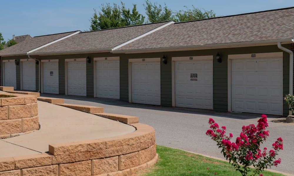 Garages at Cross Timber in Oklahoma City, Oklahoma