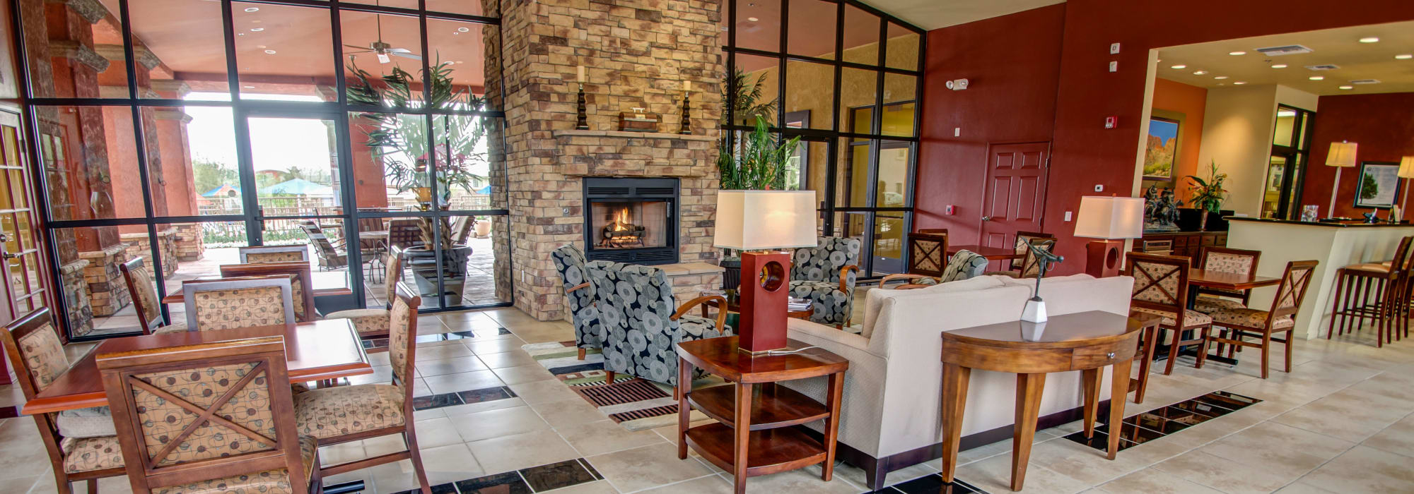Great room in Oro Valley, Arizona at Oro Vista Apartments