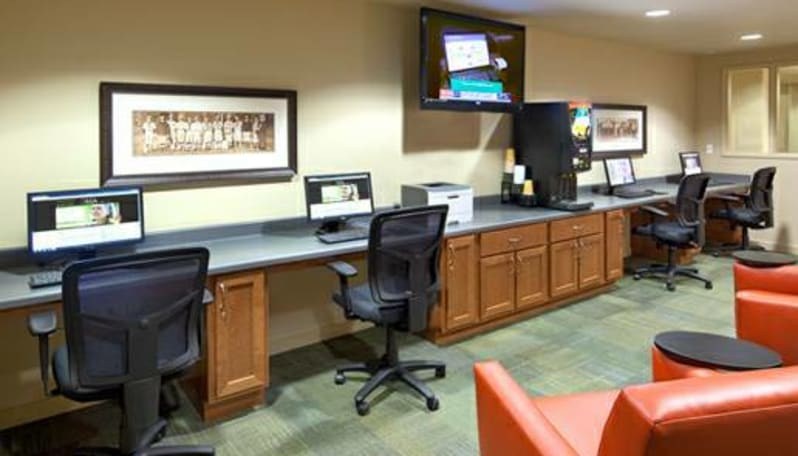 Internet cafe at Affinity at Coeur d'Alene