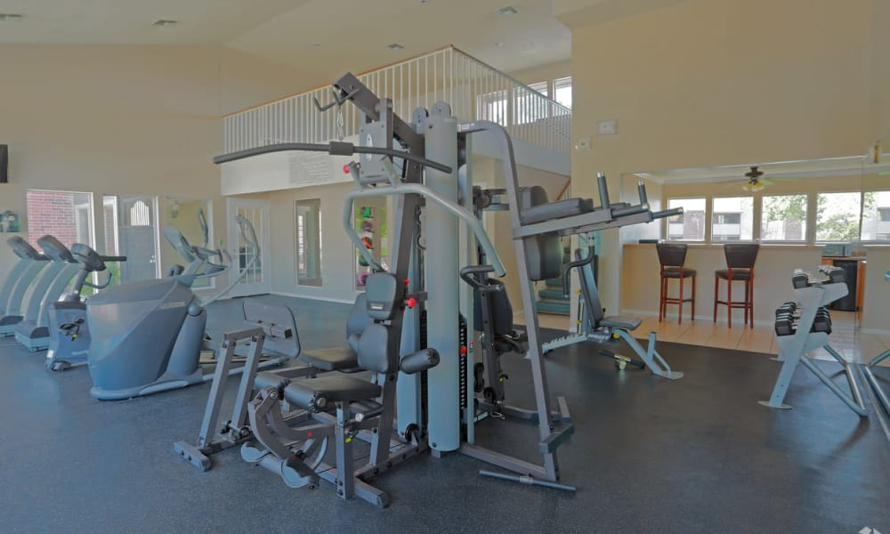 Fitness Center at High Ridge Apartments in El Paso, Texas