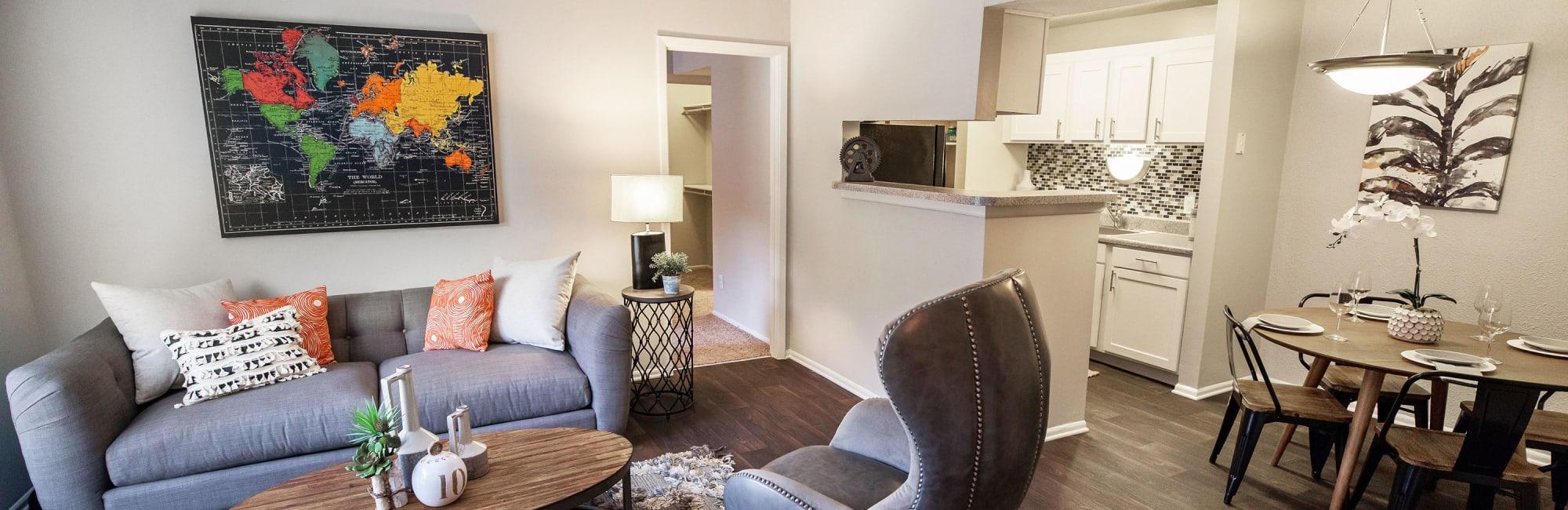 Apartments at The Corners at Crystal Lake in Winston Salem, North Carolina